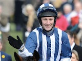 Jockey JT McNamara in action on March 14, 2013