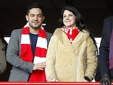 Singer Lana Del Rey watches Liverpool versus Tottenham from the stands on March 10, 2013