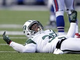Former Jets safety LaRon Landry in action against the Bills on December 30, 2012