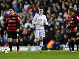 Leeds United's Sam Byram after scoring against Peterborough on March 12, 2013