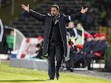 Porto boss Vitor Pereira on the touchline on January 23, 2013