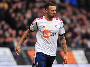 Bolton's Craig Davies in action on March 9, 2013