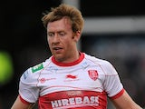 Hull KR's David Hodgson in action on February 3, 2013