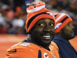 Denver Broncos defensive end Elvis Dumervil during his side's match against the Kansas City Chiefs on December 30, 2012