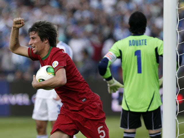 Result: Late Coentrao goal saves Portugal