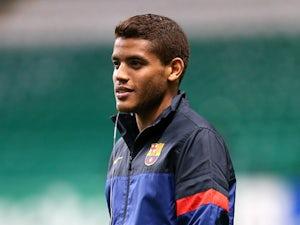 Barcelona's Jonathan dos Santos on November 7, 2012