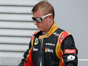 Raikkonen: 'The heat helped Lotus'