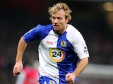 Blackburn Rovers player Michael Gray during his side's Premier League match against Arsenal on December 23, 2006