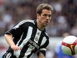 Then Newcastle forward Michael Owen, during a game with Chelsea on April 4, 2009