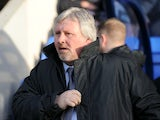 Former Southend boss Paul Sturrock, during a game with Shrewsbury Town on January 21, 2012