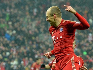 Robben eyes away goal