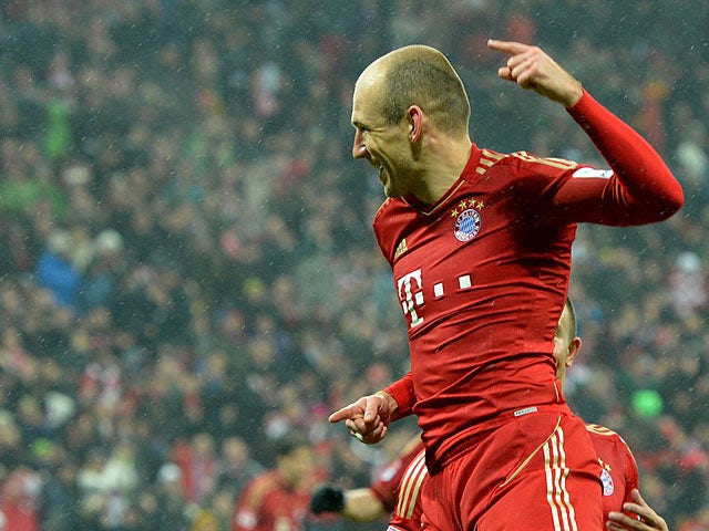 Robben: 'It was an amazing result'