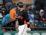 San Francisco Giants' Buster Posey in action on March 8, 2013