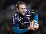 Worcester Warriors' Chris Pennell in action on January 4, 2013