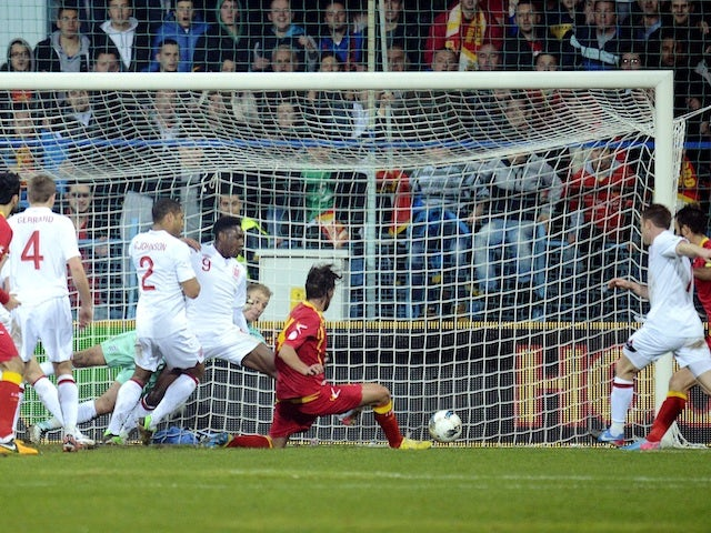 Result: England suffer late blow in Montenegro