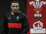 Wales' Eli Walker during a training session on January 29, 2013