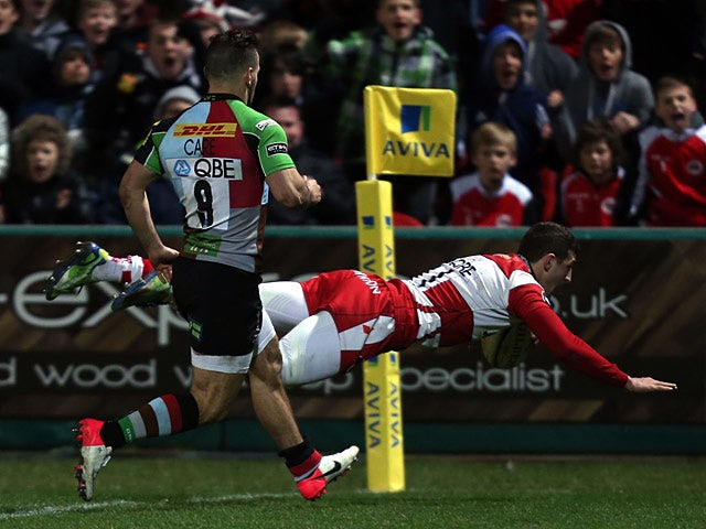 Result: Gloucester hold on to beat Saracens