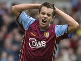 Former Aston Villa player Lee Hendrie during a Premier League match on March 25, 2006