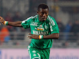 Saint-Etienne's Max Gradel in action on December 23, 2012