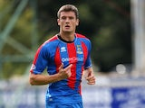 Inverness Caledonian Thistle's Owain Tudur Jones during a match on August 13, 2011