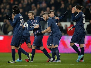 Result: PSG extend lead at the top