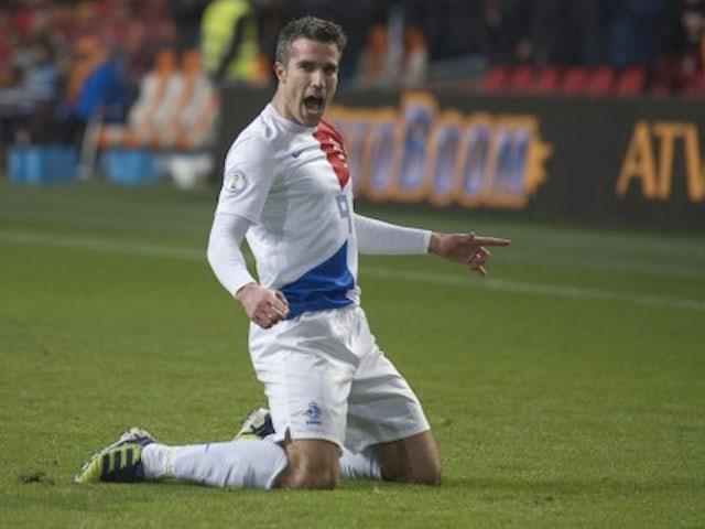 Result: Van Persie brace extends Netherlands Group D lead