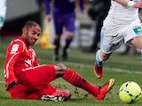Nancy defender Yassine Jebbour in action on February 3, 2013