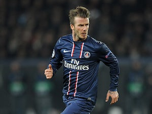 Beckham criticised in France