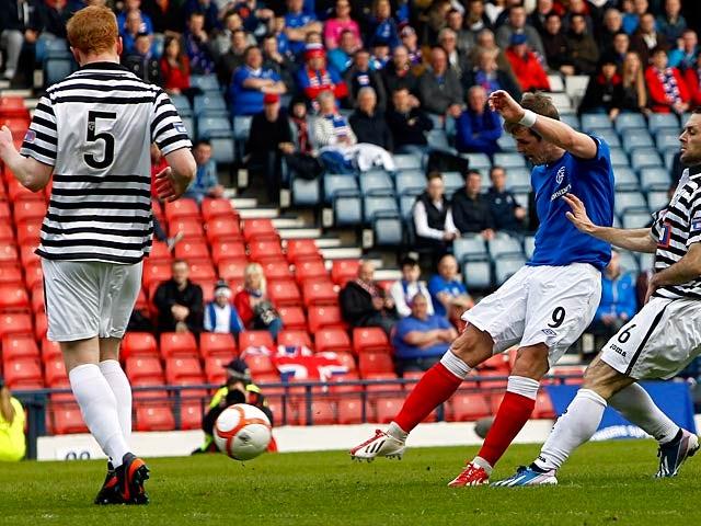 Result: Rangers thrash Queen's Park