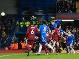 Chelsea forward Fernando Torres celebrates a goal against Rubin Kazan on April 4, 2013