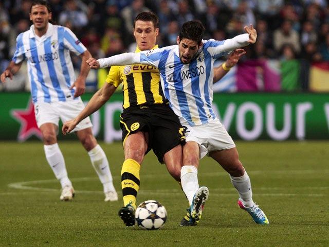 Result: Dortmund held by Malaga