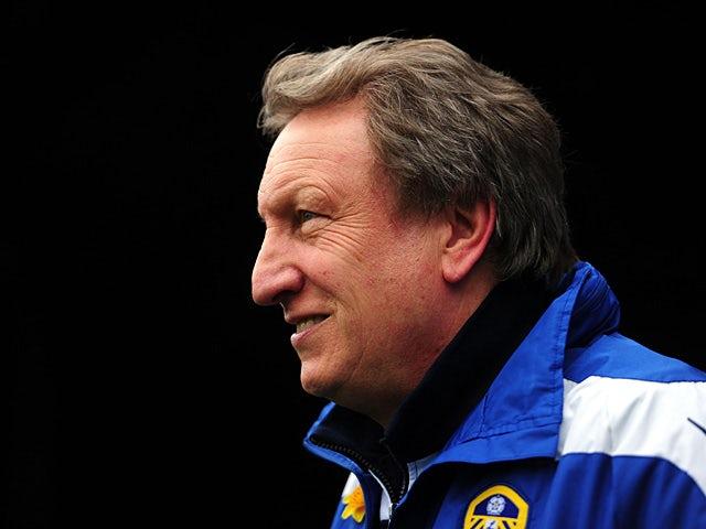 Leeds part company with Warnock