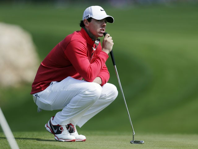 McIlroy happy to be