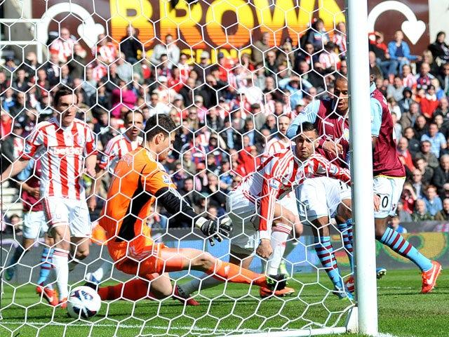 Result: Villa defeat fellow strugglers Stoke