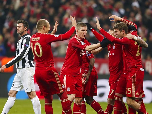 Result: Alaba, Muller put Bayern in control