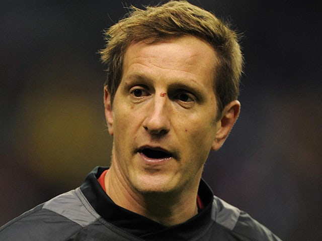 Will Greenwood during a charity match warmup on December 3, 2011