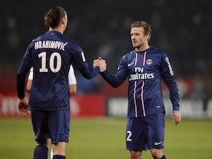 Ibrahimovic: 'Beckham has stolen my spotlight'