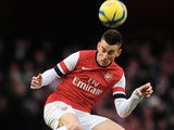 Arsenal defender Laurent Koscielny in action against Blackburn on February 16, 2013