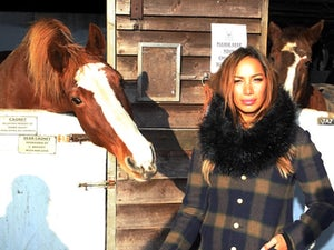 Leona Lewis sparks outrage with jockey tweet