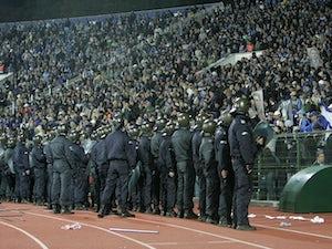 Levski players threatened during fan blockade