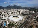 Brazil's Maracana Stadium, photographed on April 11, 2013