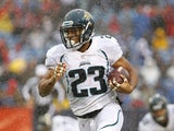 Raiders' new RB Rashad Jennings when playing for Jacksonville on December 2, 2012