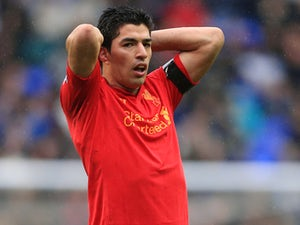 Report: Liverpool reject Arsenal's bid for Luis Suarez