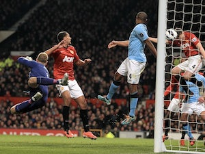 Live Commentary: Manchester United 1-2 Manchester City - as it happened