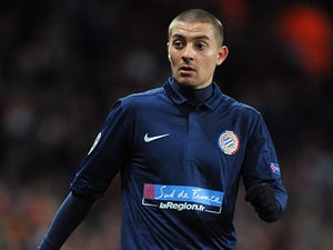 Montpellier's Anthony Mounier during the Champions League encounter with Arsenal on November 21, 2012