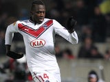 Bordeaux's Cheick Diabate during the Europa League clash with Dynamo Kiev on February 21, 2013