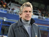 Lorient head coach Christian Gourcuff on October 26, 2011