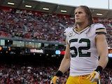 Green Bay Packers' Clay Matthews during a warmup on January 12, 2013