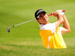 Aguilar shares lead in Spain
