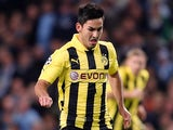 Dortmund's Ilkay Gundogan on action on October 3, 2012